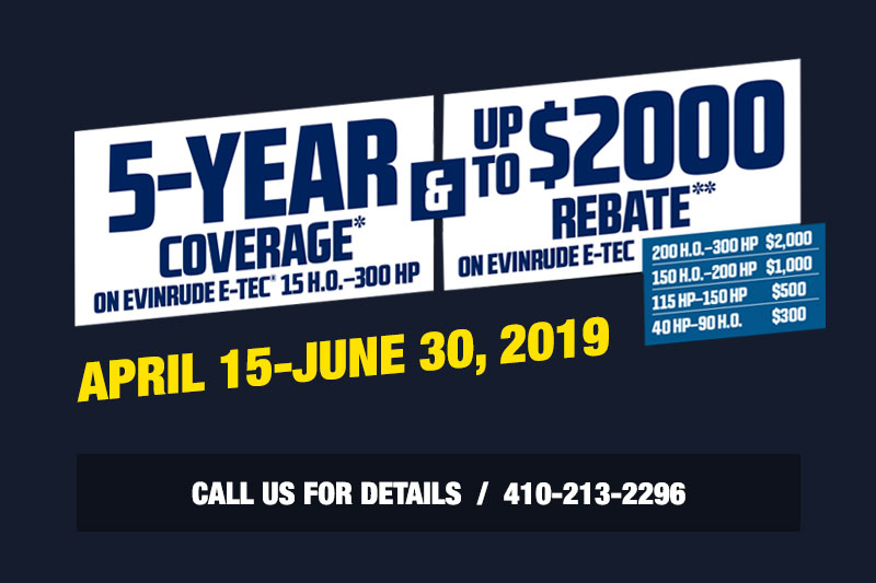 5-Year coverage and up to $2000 rebate. Click here for details.