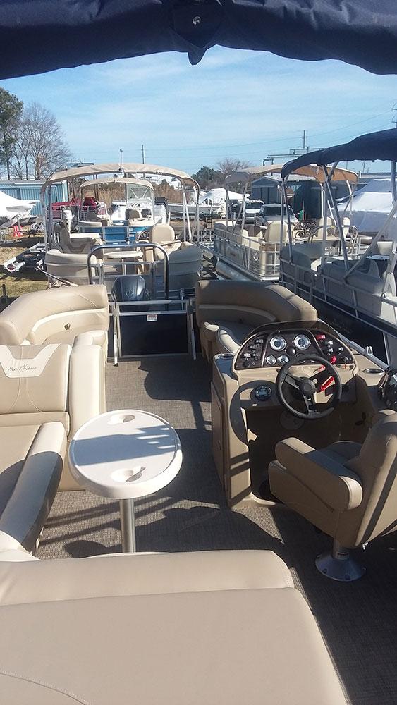 Sunchaser Pontoon Boats for sale | Harbor Marine Ocean City